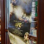 UFC 165 poster