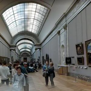 Inside the Louvre Museum (StreetView)