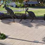 """Kangaroos in the City"" by Charles Smith and Joan Walsh Smith (StreetView)"