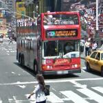 Red double decker bus (StreetView)