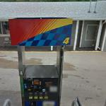 Google vehicle getting gas (StreetView)