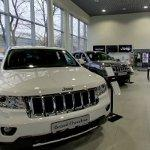 Jeep showroom