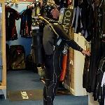 Person in scuba gear