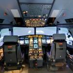 In the Cocpit of an Airbus A320-200 (StreetView)
