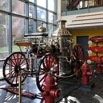 1879 Silsby Steamer at the Marietta Fire Museum