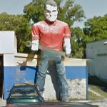 Muffler Man (StreetView)