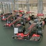Formula One car McLaren MP4-23, MP-24, MP-25 & MP-28