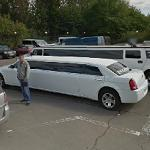 Limousine and Hummer Limo (StreetView)