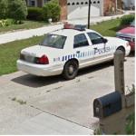 Evansville,IN Police Car (StreetView)