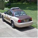 Vanderburgh County,IN Police Car (StreetView)