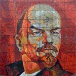 Vladimir Lenin mosaic
