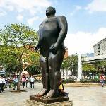 'Adam' by Fernando Botero (StreetView)