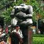 'Mujer Sentada' by Fernando Botero (StreetView)