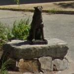 Statue of Hachiko, Faithful Dog (StreetView)