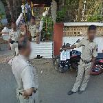 Indian police (StreetView)