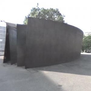 'Intersection' by Richard Serra (StreetView)