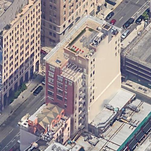 Rihanna's penthouse (Google Maps)