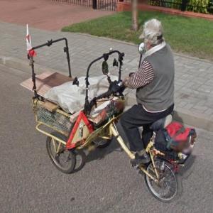 Cargo rickshaw trike (StreetView)