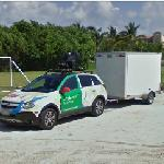 Google car and trailer (StreetView)