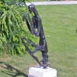 'Praying Mantis' by Germaine Richier (StreetView)