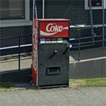 Mystery Coke Machine (StreetView)