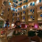 The lobby of the Burj Al Arab