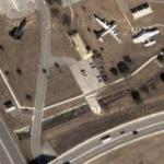 Lockheed SR-71 at Lackland Air Force Base (Google Maps)
