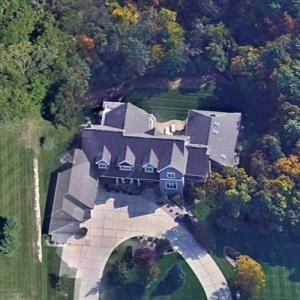 Bo Ryan's House (Google Maps)