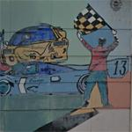 24 Hours of Le Mans mural (StreetView)