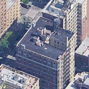 Tina Fey's apartment (Google Maps)