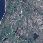 Abandoned Nazi Concrete Rings on Russian North (Google Maps)