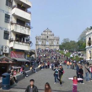 Ruins of St. Paul's, Macau (StreetView)