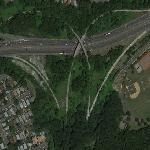 Abandoned Highway (Google Maps)