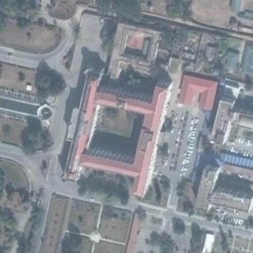 singha durbar in kathmandu  nepal  google maps