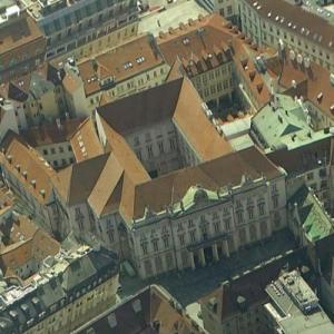 Primate's Palace, Bratislava (Google Maps)