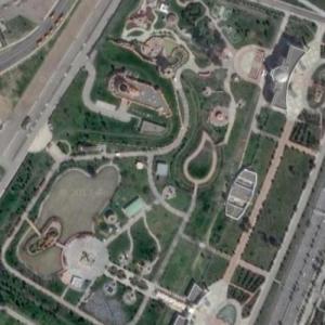 World of Turkmenbashi Tales (Google Maps)