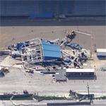 Indiana State Fair stage collapse (Google Maps)