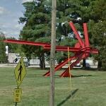 'For Kepler' by Mark di Suvero (StreetView)