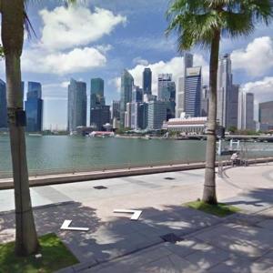 Singapore Skyline (StreetView)