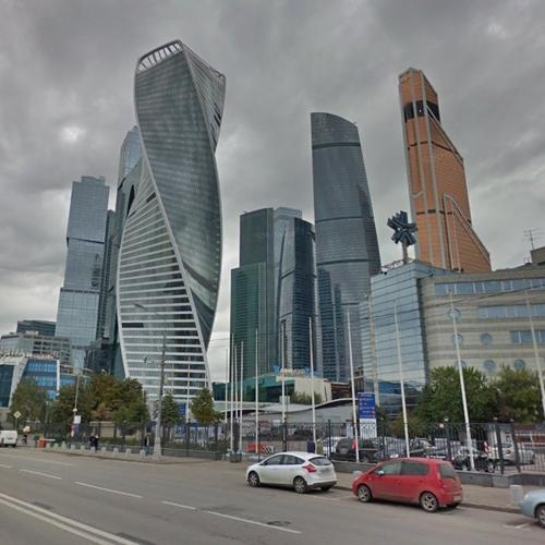 Moscow Skyline In Moscow Russian Federation Google Maps