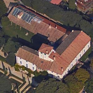 American Ambassador's Residence in Rome (Google Maps)