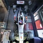 Mika Häkkinen's 2000 Formula One car (StreetView)