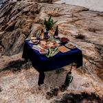 Meal in an unusual place