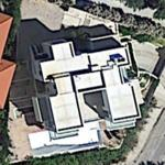 "Despina Vandi and Themistoklis ""Demis"" Nikolaidis's house (Google Maps)"