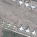 Mig-29 Fulcrums and AL-39s on Armavir training airbase