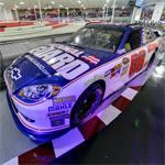 Dale Earnhardt Jr's 2012 NASCAR stock car (StreetView)
