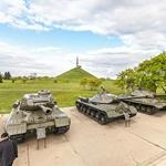 Red Army tanks exhibition