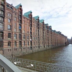 Speicherstadt, Hamburg (StreetView)