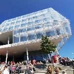 'Unilever Haus' by Behnisch Architekten (StreetView)