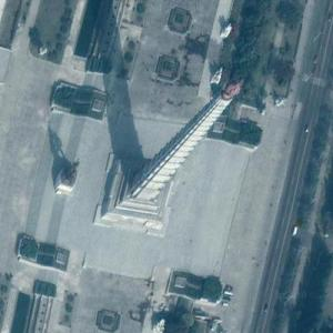Tower of the Juche Ideal (Juche Sasang Tap) (Google Maps)